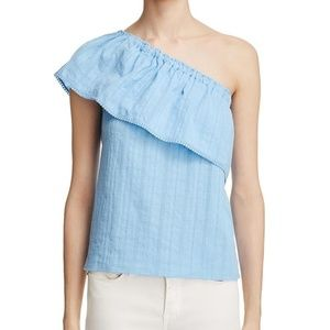 NWT Beltaine Ruffle One-Shoulder Bella Blouse